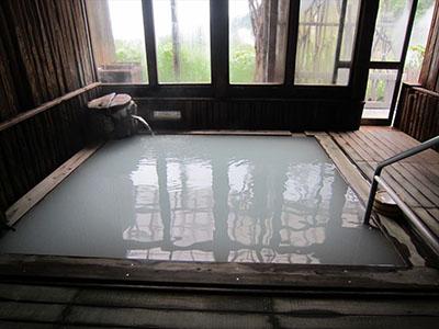 The indoor bath