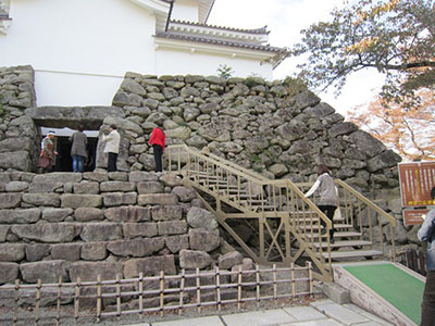 Entrance of the castle tower